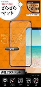 保護ガラス 全面保護 マット 5.4inch