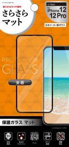 保護ガラス 全面保護 マット 6.1inch
